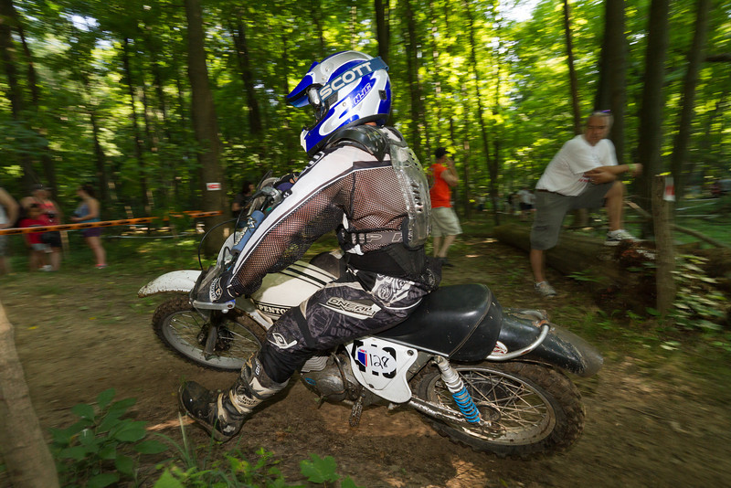 """AMA Vintage Grand Championships, Mid-Ohio Sports Car Course, Lexington, Ohio, July 19-21, 2013. Part of the AMA Vintage Motocross and Hare Scrambles National Championship Series. Photos by <a href=""""http://www.maysphotos.com"""">Corey Mays</a>, courtesy of the American Motorcyclist Association."""