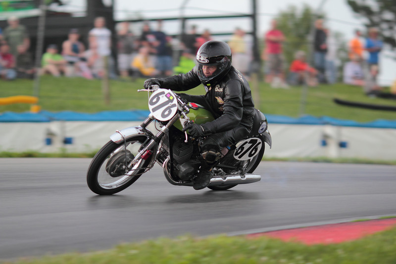 """AMA Vintage Grand Championships, Mid-Ohio Sports Car Course, Lexington, Ohio, July 19-21, 2013. Photo by <a href=""""http://www.m5racing.com"""">David Stanoszek/M5 Racing</a>, courtesy of the American Motorcyclist Association."""