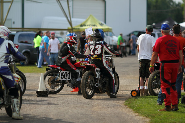 2014 AMA Vintage Grand Championships: Dirt Track