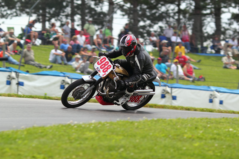 """BikeBandit.comAMA Vintage Motorcycle Days, featuring Indian Motorcycle at Mid-Ohio Sports Car Course, July 11-13, 2014 near Lexington, Ohio. Photo by <a href=""""http://m5racing.com/"""">David Stanoszek/M5 Racing</a>, courtesy of the American Motorcyclist Association. #AMAVMD"""