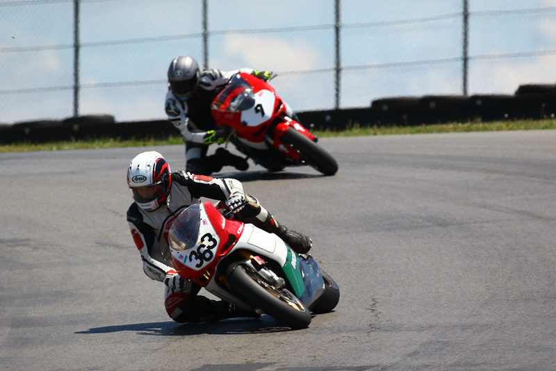 """AMA Vintage Motorcycle Days, July 8-10, 2016 at Mid-Ohio Sports Car Course in Lexington, OH. Photo by <a href=""""http://electriceyeimages.photoreflect.com/"""">Joe Hansen</a>, courtesy of the American Motorcyclist Association."""