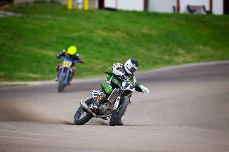 2018 AMA Flat Track Grand Championship, Springfield, Ill., May 29 to June 1. Photo by Joe Hansen/ElectricEyeImages.com for the American Motorcyclist Association.