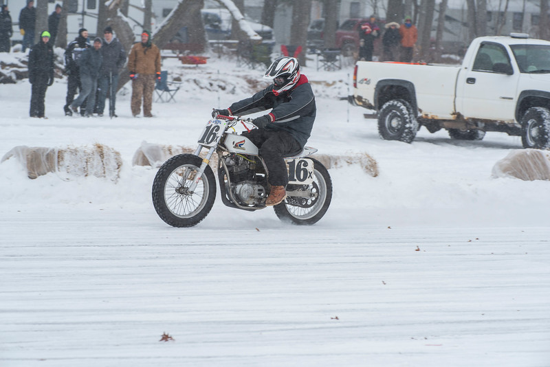 2018 AMA Ice Race Grand Championship, held Feb. 2-4 in Cadillac, Mich. Photo by Mike Barton.