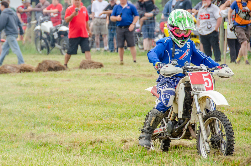 2018 AMA Off-Road Vintage Grand Championship: Hare Scrambles. July 6, 2018 at Mid-Ohio Sports Car Course in Lexington, Ohio. Photo by Jen Muecke for the American Motorcyclist Association.