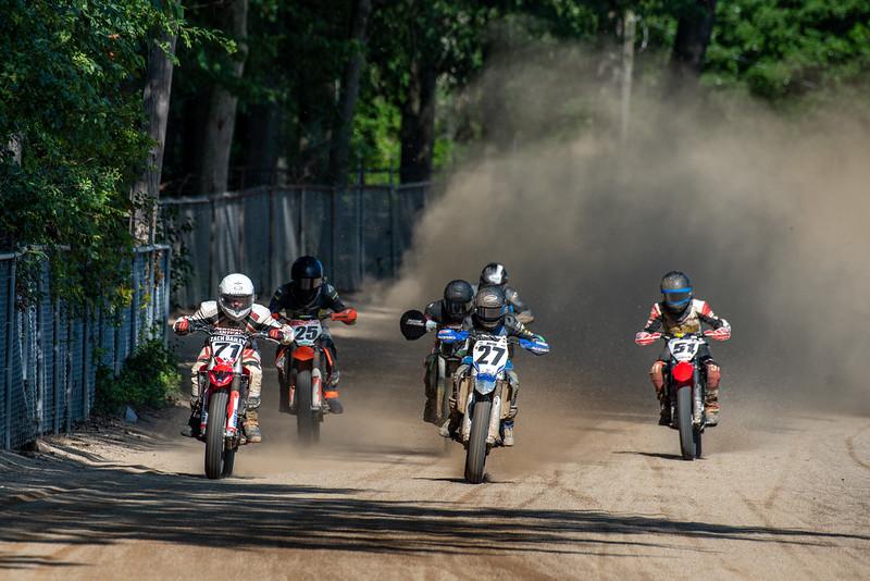 "2019 Flat Track Grand Championship, Half Mile - Ashland, OH. Photo by <a href=""http://2ndaryhwy.smugmug.com"" target=""_blank"">Jen Muecke</a> for the American Motorcyclist Association."