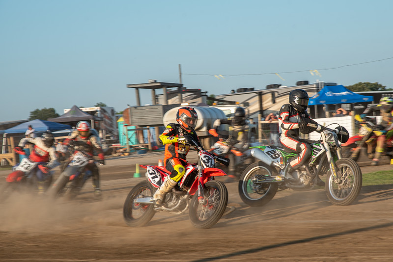 """2019 Flat Track Grand Championship: TT - July 24, 2019, Harpster, OH. Photo by <a href=""""http://2ndaryhwy.smugmug.com"""" target=""""_blank"""">Jen Muecke</a> for the American Motorcyclist Association."""