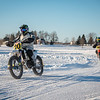 "2019 Ice Race National Championship, Jan. 20, 2019, Kettle Moraine Lake - Campbellsport, Wis. in conjunction with the Steel Shoe Fund 3-Hour Motorcycle Endurance Ice Event. Photo by <a href=""http://2ndaryhwy.smugmug.com"" target=""_blank"">Jen Muecke</a> for the American Motorcyclist Association."