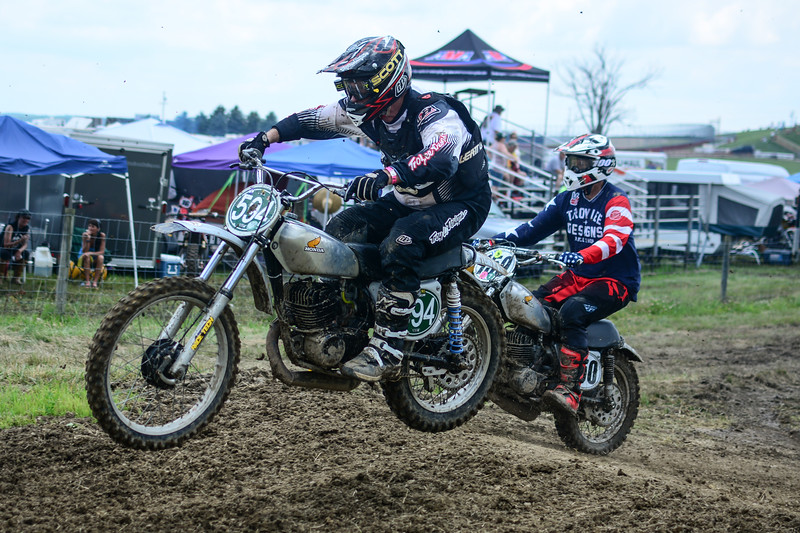 2019 AMA Off-Road Vintage Grand Championship: Motocross. July 6-7, 2019 at Mid-Ohio Sports Car Course in Lexington, Ohio. Photo by Matt Milanowski for the American Motorcyclist Association.