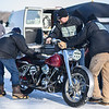 2020 Ice Race Grand Championship, Feb 22, 2020, Hitching Post Grill & Sports Bar in Weyauwega, Wis. in conjunction with High Voltage. Photo by Matt Milanowski for the American Motorcyclist Association.