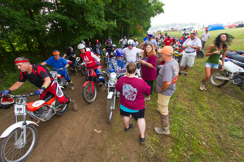 """AMA Vintage Grand Championships, Mid-Ohio Sports Car Course, Lexington, Ohio, July 19-21, 2013. Photo by <a href=""""http://www.maysphotos.com"""">Corey Mays</a>, courtesy of the American Motorcyclist Association."""