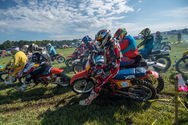 """Moto Armory AMA Vintage Off-Road Grand Championship: Hare Scrambles, July 7, 2017 at Mid-Ohio Sports Car Course in Lexington, Ohio. Photo by <a href=""""https://2ndaryhwy.smugmug.com/"""">Jen Muecke</a> for the American Motorcyclist Association."""