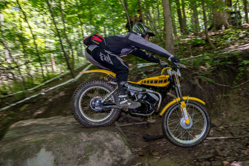 "Moto Armory AMA Vintage Off-Road Grand Championship: Trials, July 9, 2017 at Mid-Ohio Sports Car Course in Lexington, Ohio. Photo by <a href=""https://2ndaryhwy.smugmug.com/"">Jen Muecke</a> for the American Motorcyclist Association."