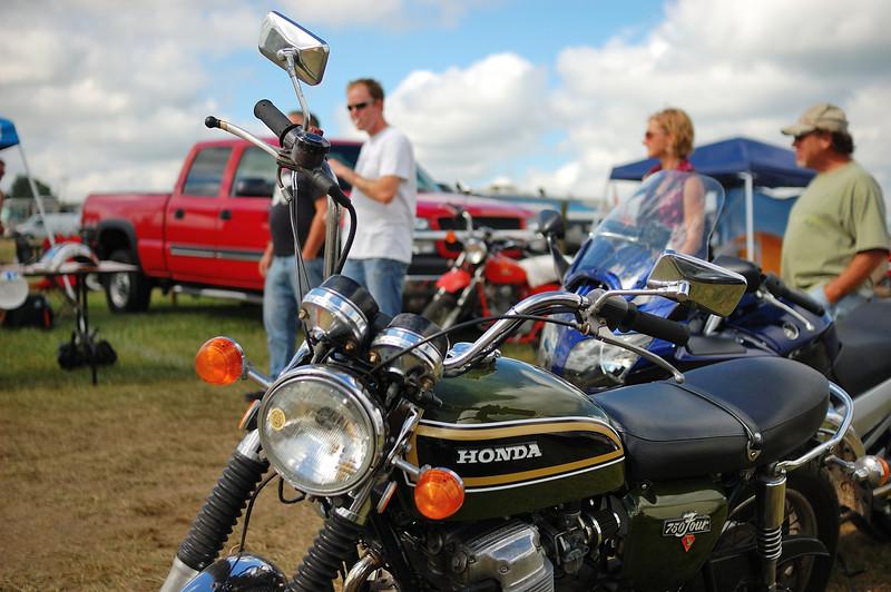 AMA Vintage Motorcycle Days, July 20-22, 2012 at Mid-Ohio Sports Car Course in Lexington, Ohio. Photo courtesy of the AMA.