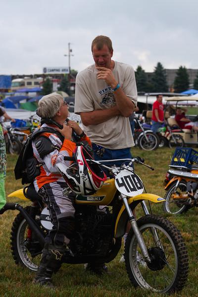 AMA Vintage Motorcycle Days, July 20-22, 2012 at Mid-Ohio Sports Car Course in Lexington, Ohio. Photo by Corey Mays, courtesy of the AMA.