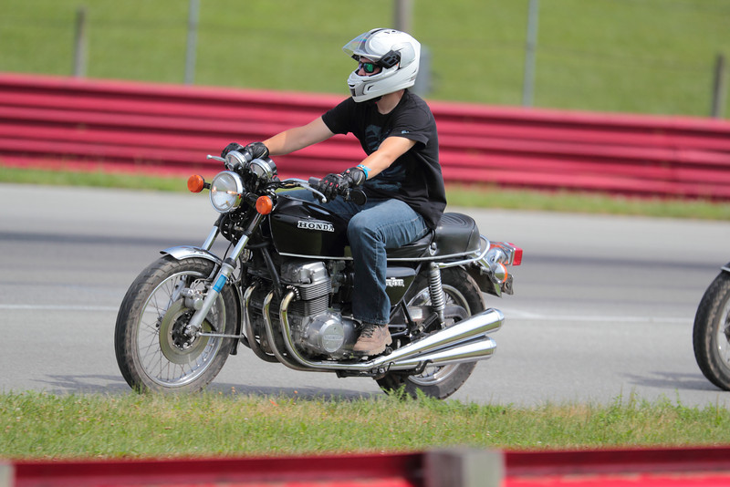 2013 BikeBandit.com AMA Vintage Motorcycle Days, presenting the riders and champions of Husqvarna. July 19-21, 2013 at Mid-Ohio Sports Car Course in Lexington, Ohio. Photo by David Stanoszek/M5 Racing, courtesy of the AMA.