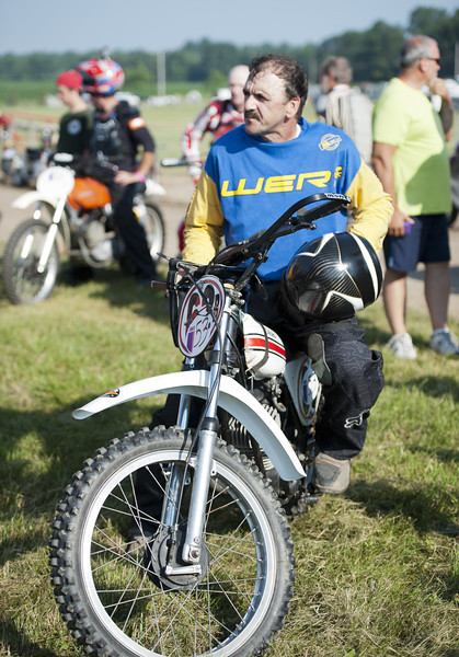 2013 BikeBandit.com AMA Vintage Motorcycle Days, presenting the riders and champions of Husqvarna