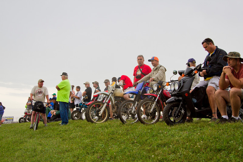 2013 BikeBandit.com AMA Vintage Motorcycle Days, presenting the riders and champions of Husqvarna. July 19-21, 2013 at Mid-Ohio Sports Car Course in Lexington, Ohio. Photo by Jeff Guciardo/AMA.