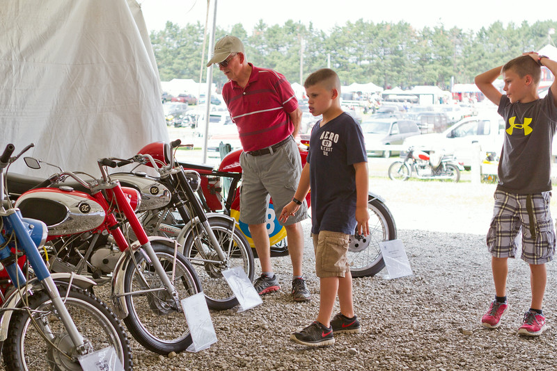 BikeBandit.comAMA Vintage Motorcycle Days, featuring Indian Motorcycle at Mid-Ohio Sports Car Complex, July 11-13, 2014 near Lexington, Ohio. Photo by Jeff Guciardo/American Motorcyclist Association.