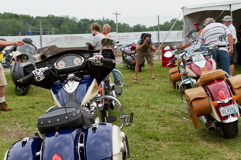 BikeBandit.com AMA Vintage Motorcycle Days, featuring Indian Motorcycle at Mid-Ohio Sports Car Course, July 11-13, 2014 near Lexington, Ohio. Photo by Jeff Guciardo/American Motorcyclist Association. #AMAVMD