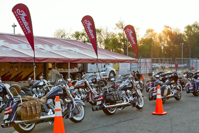 BikeBandit.comAMA Vintage Motorcycle Days, featuring Indian Motorcycle at Mid-Ohio Sports Car Complex, July 11-13, 2014 near Lexington, Ohio. Photo by Jeff Guciardo/American Motorcyclist Association. #AMAVMD