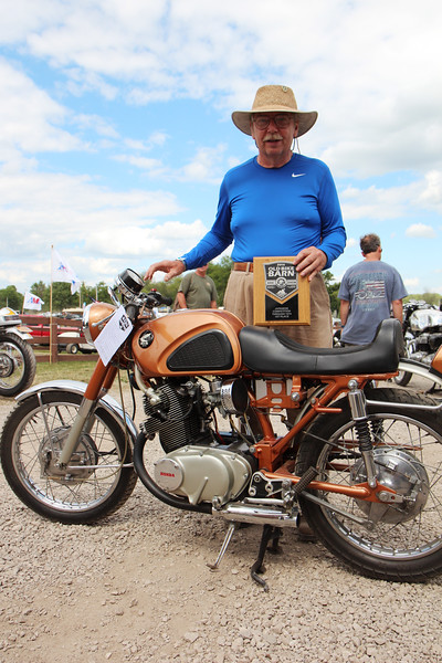 Old Bike Barn Bike Show<br /> Photo by Halley Immelt / American Motorcyclist Association