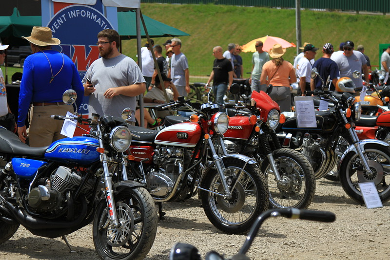Old Bike Barn Bike Show<br /> Photo by Jeff Guciardo / American Motorcyclist Association