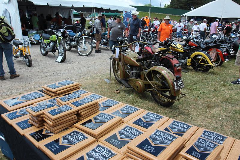 Old Bike Barn Bike Show<br /> Photo by Halley Immelt / American Motorcyclist Association