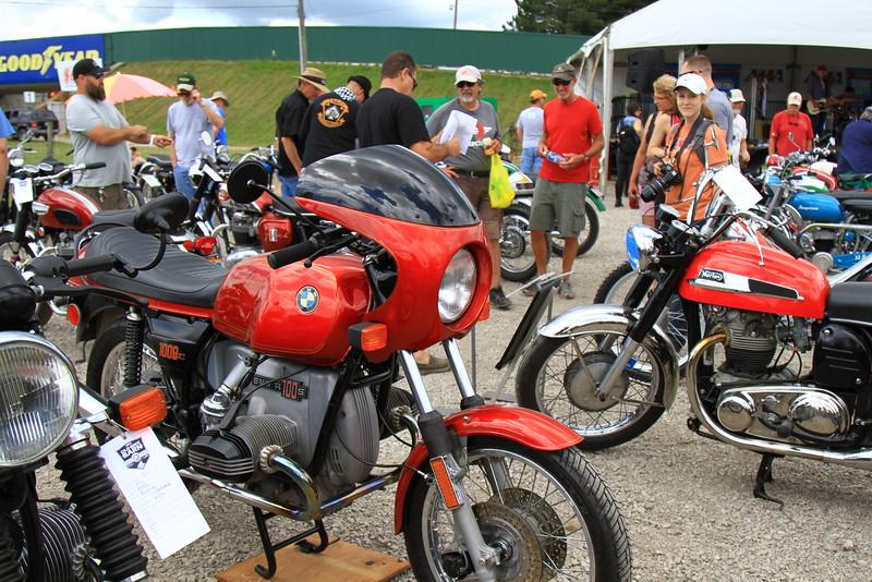 Old Bike Barn Bike Show<br /> Photo by Jeff Guciardo / American Motorcyclist Association