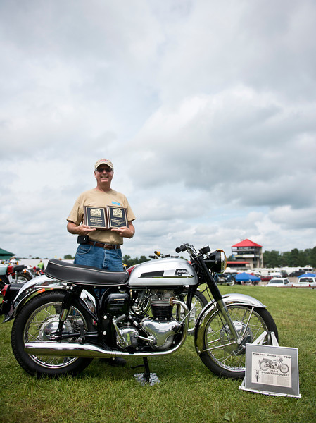 """2013 BikeBandit.com AMA Vintage Motorcycle Days, featuring the riders and champions of Husqvarna. July 19-21, 2013 at the Mid-Ohio Sports Car Course in Lexington, Ohio. Photo by <a href=""""http://www.yvephoto.com"""">Yve Assad</a>, courtesy of the American Motorcyclist Association."""