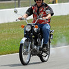 AMA Vintage Motorcycle Days 2011 Lap for History. Photo by Dan Focht Motorsports Photography, courtesy of the AMA.