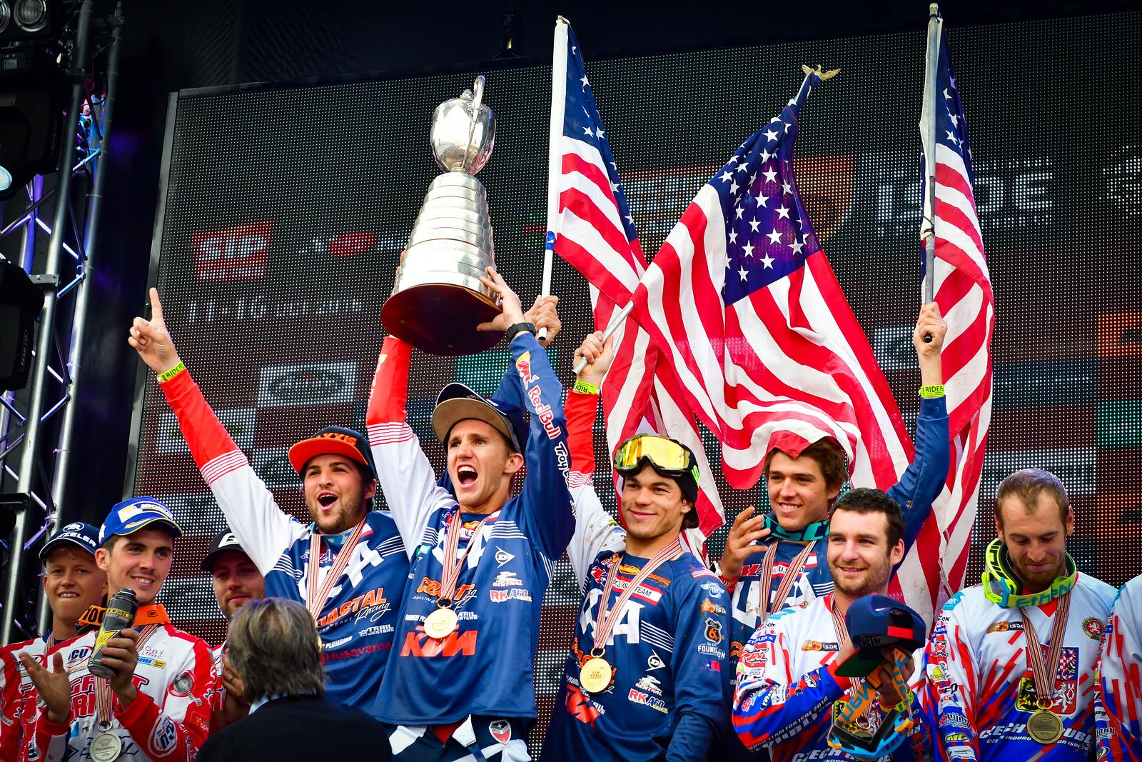 2017 ISDE U.S. World Trophy Team