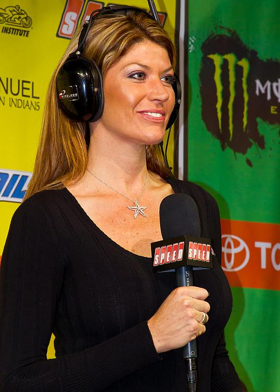 Speed's Erin Bates AMA Supercross Atlanta