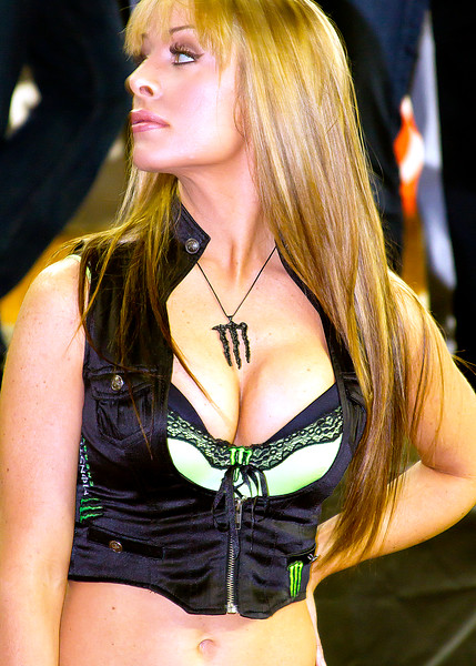 Monster Energy Drink Girl Atlanta Georgia Dome