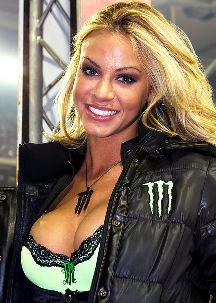 Monster Energy Drink Girl Atlanta AMA Supercross Georgia Dome