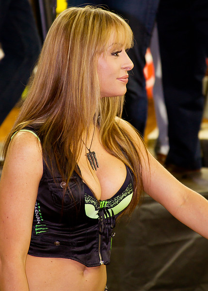 Monster Energy Drink Girl Atlanta AMA Supercross