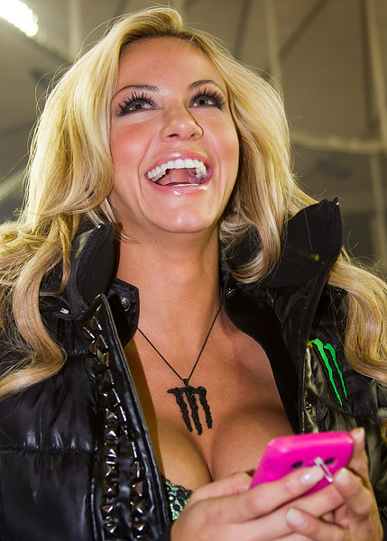 Monster Laugh at the AMA Supercross Atlanta
