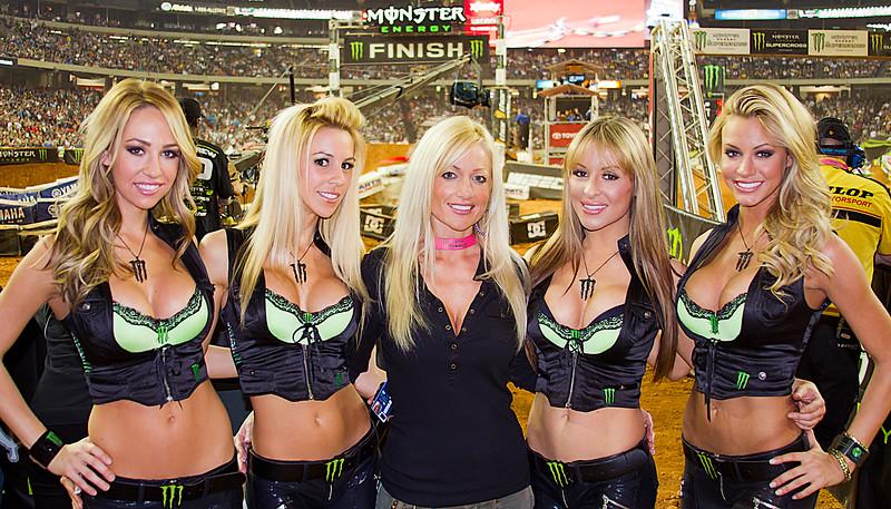 Monster Girls Atlanta AMA Supercross at the Georgia Dome