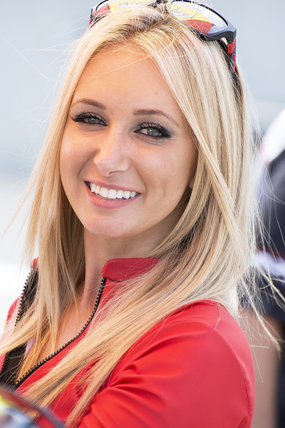 Jordan Motorsports Umbrella Girl Barber
