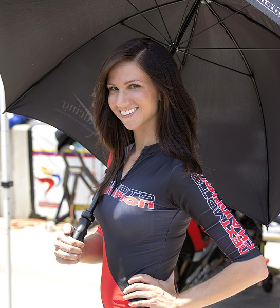 NextMoto Champion Umbrella Girl Barber