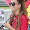 Jordan Motorsports National Guard Umbrella Girl on Grid