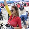 Jordan Motorsports National Guard Umbrella Girl