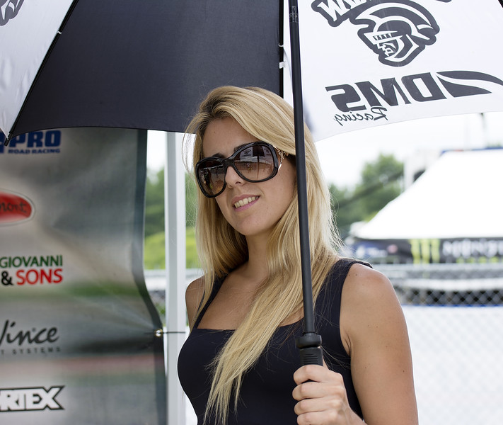 DMS Racing Umbrella Girl