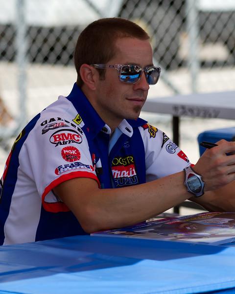 AMA SuperBike Racer Tommy Hayden