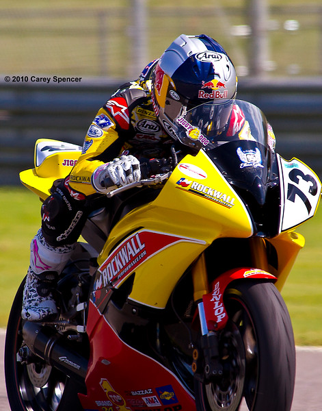 J.D. Beach on his Rockwall Performance Yamaha YZF-R6