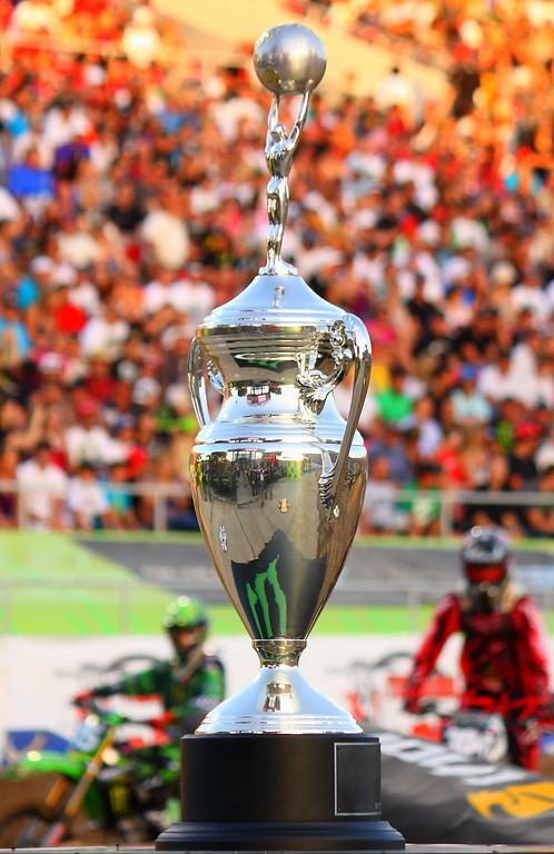 AMA SX Championship Trophy Las Vegas