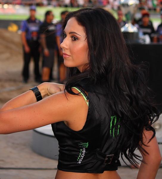 Monster Energy Drink Girl AMA SX Championship Vegas