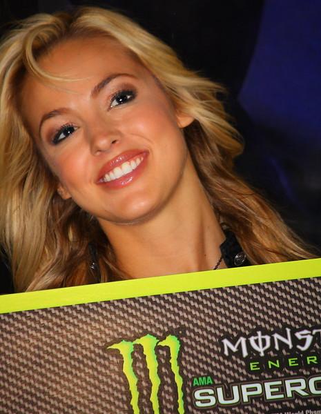 Monster Energy Girl Las Vegas 2011.