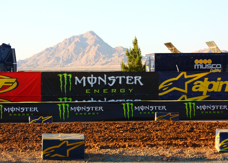 MA Monster Energy Drink SX Las Vegas Sam Boyd Stadium