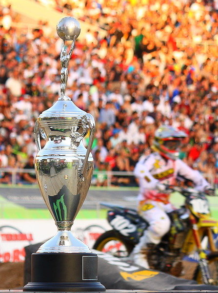 AMA SX Championship Trophy.