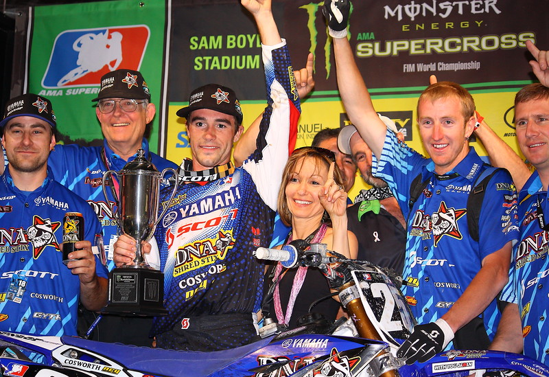 Ryan Sipes East West AMA SX Lites Winner Las Vegas